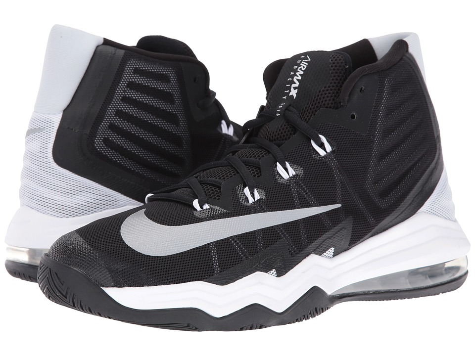 Nike - Air Max Audacity II (Black/White/Pure Platinum/Reflect Silver) Men's Basketball Shoes