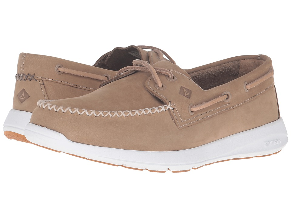 Sperry - Sojourn Nubuck (Grey) Men's Lace Up Moc Toe Shoes