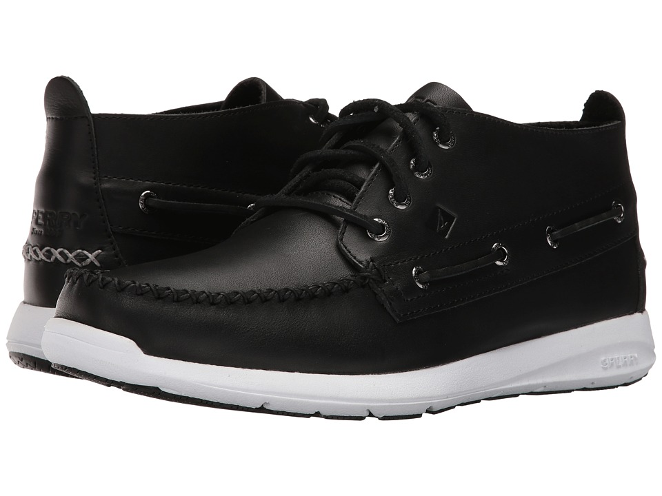 Sperry - Sojourn Chukka Leather Boot (Black) Men's Lace-up Boots