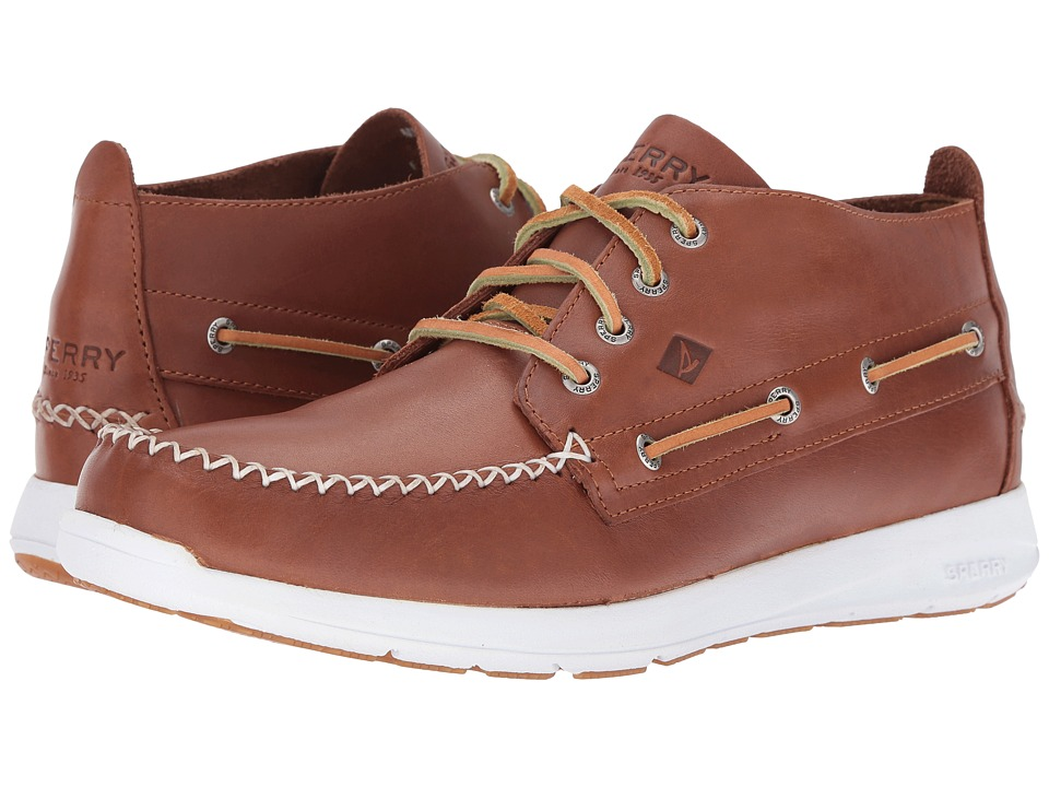 Sperry - Sojourn Chukka Leather Boot (Tan) Men's Lace-up Boots
