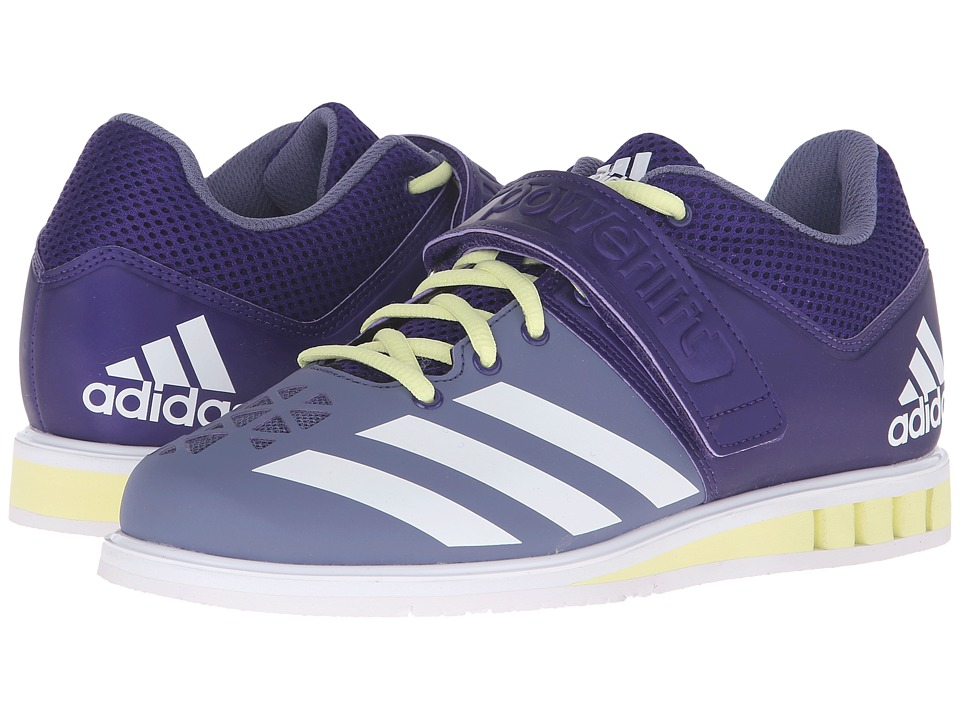 adidas - Powerlift 3 (Collegiate Purple/White/Ice Yellow) Women's Shoes