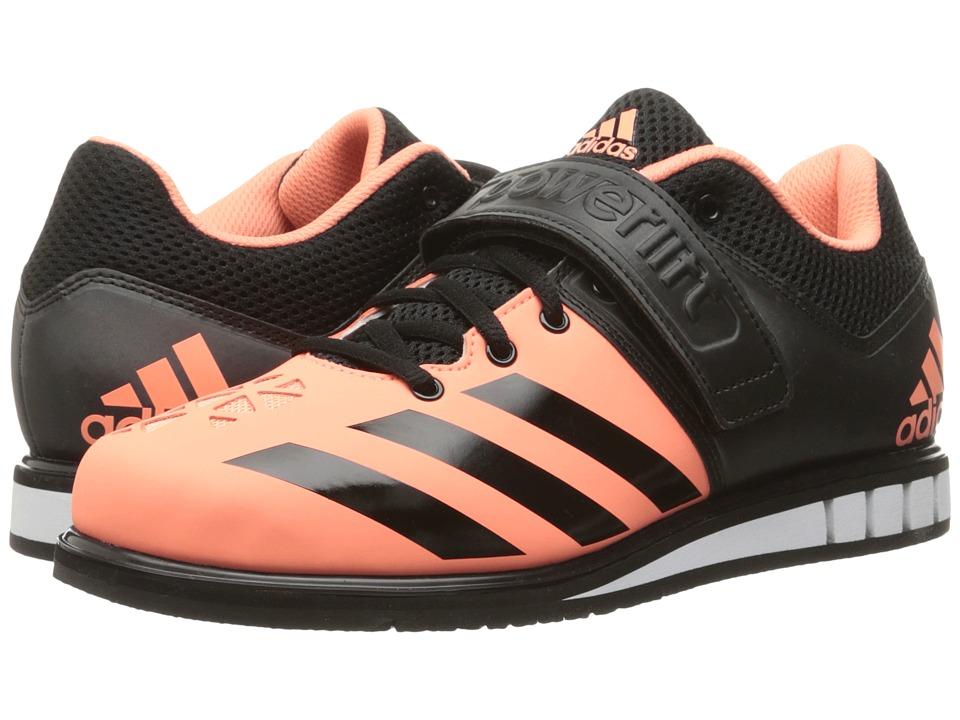 adidas - Powerlift 3 (Sun Glow/Black/White) Women's Shoes