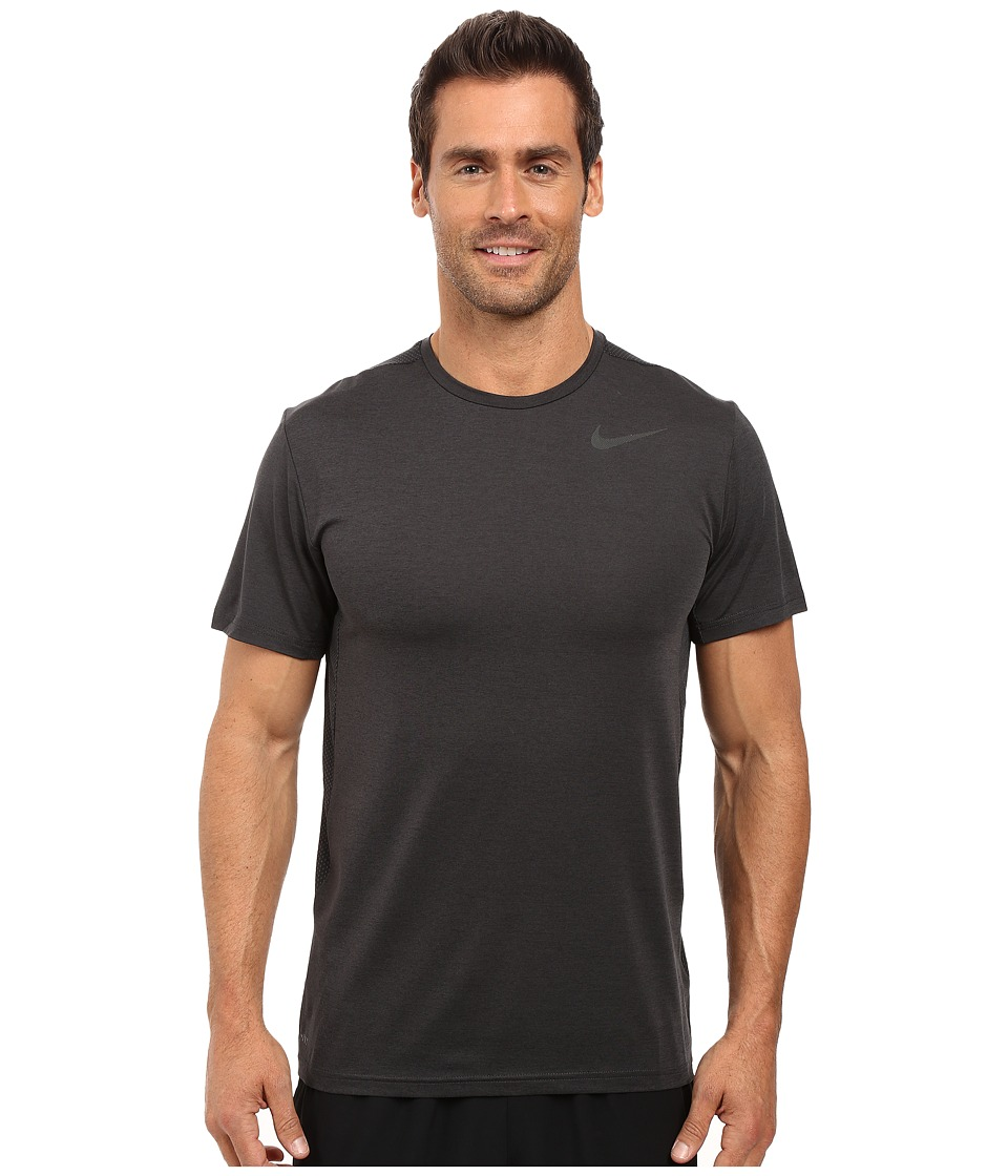 Nike - Dry Short Sleeve Training Top (Black/Anthracite/Black) Men's Clothing