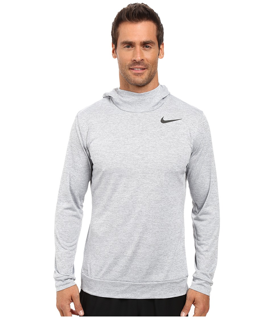 Nike - Dry Training Hoodie (Cool Grey/Wolf Grey/Black) Men's Clothing