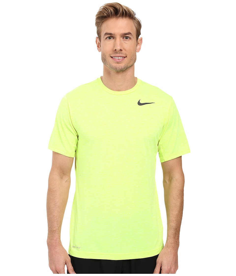 Nike - Dri-FIT Training Shirt (Volt/Volt Ice/Black) Men's Clothing