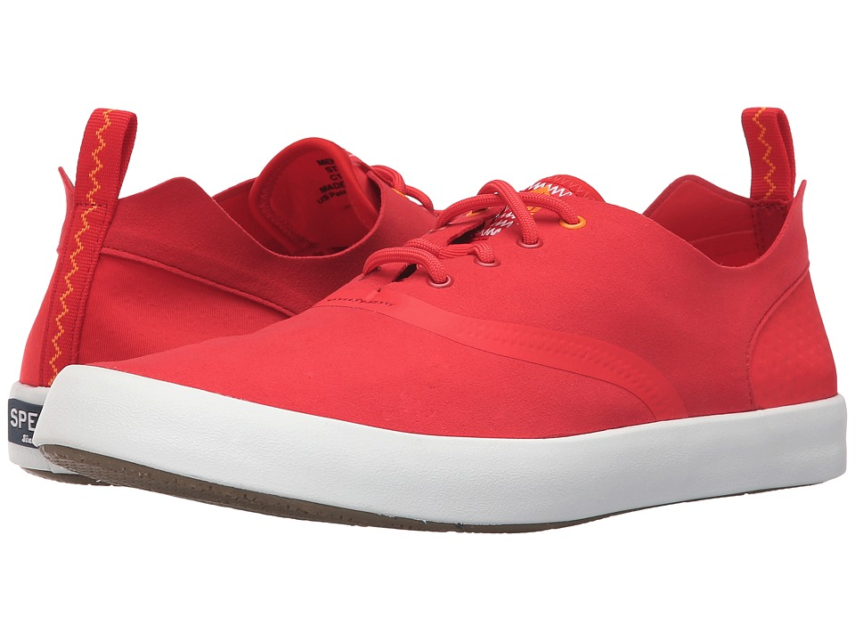 Sperry - Flex Deck CVO Micro Fiber (Risk Red) Men's Lace up casual Shoes