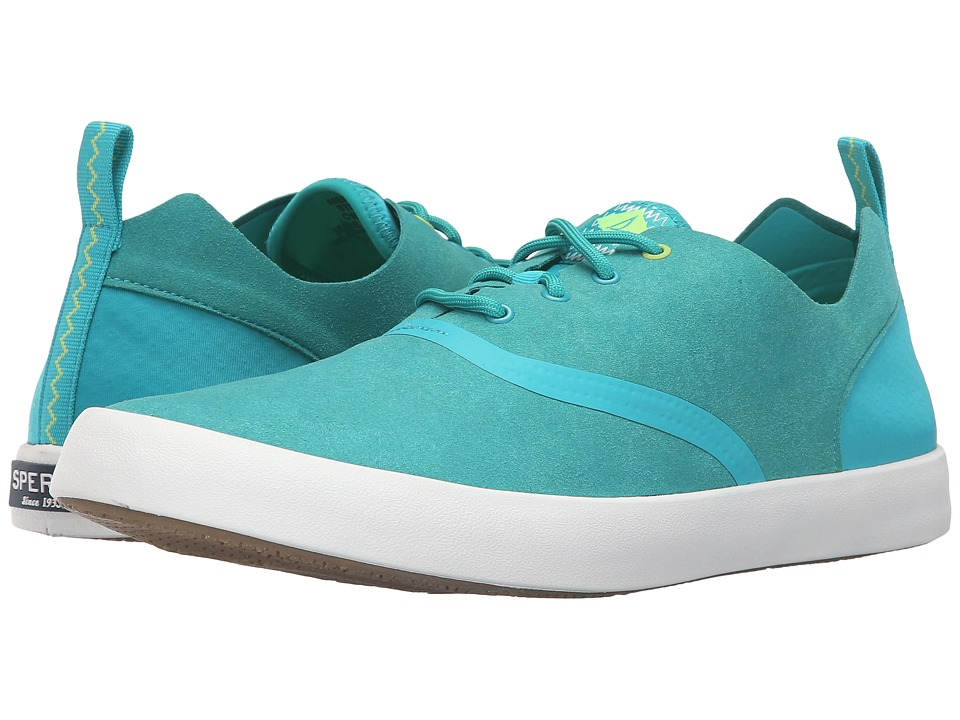 Sperry - Flex Deck CVO Micro Fiber (Turquoise) Men's Lace up casual Shoes