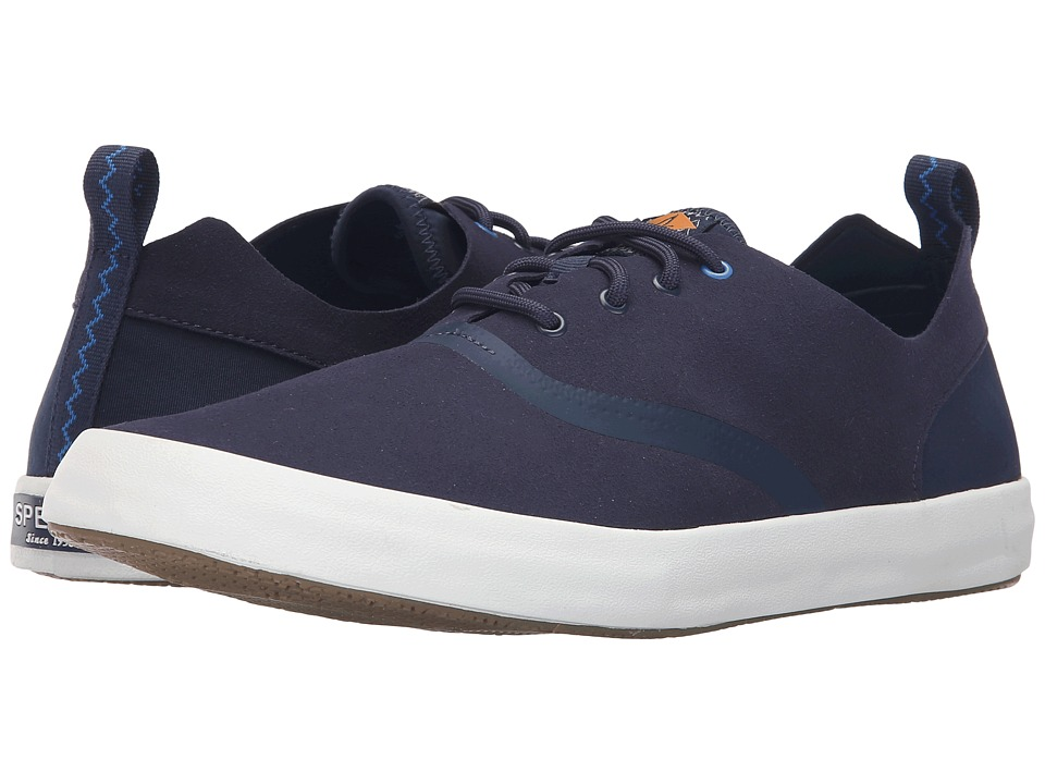 Sperry Top-Sider Flex Deck CVO Micro Fiber (Navy) Men