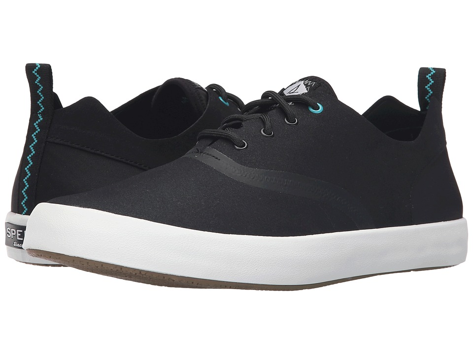 Sperry Top-Sider Flex Deck CVO Micro Fiber (Black) Men