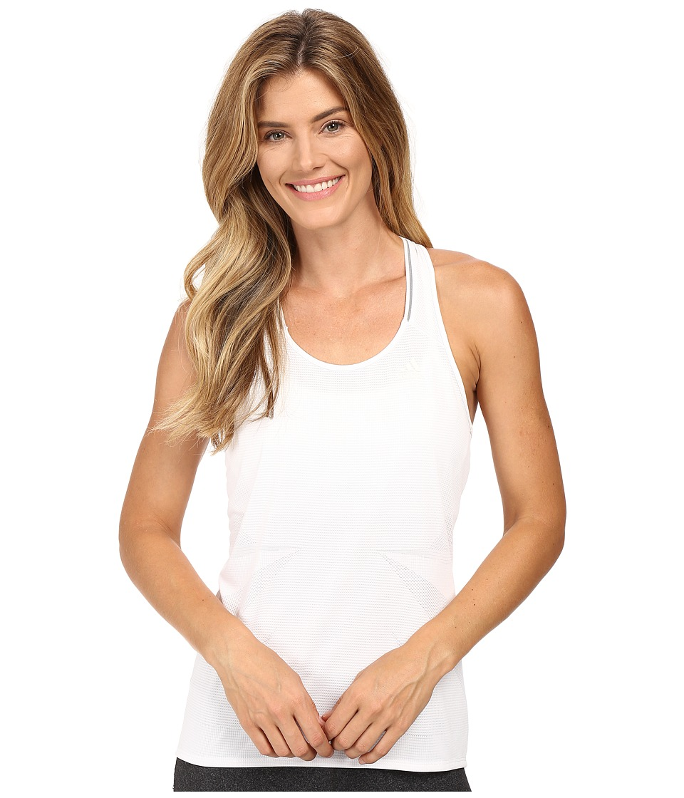 adidas - Supernova Tank Top (White) Women's Sleeveless
