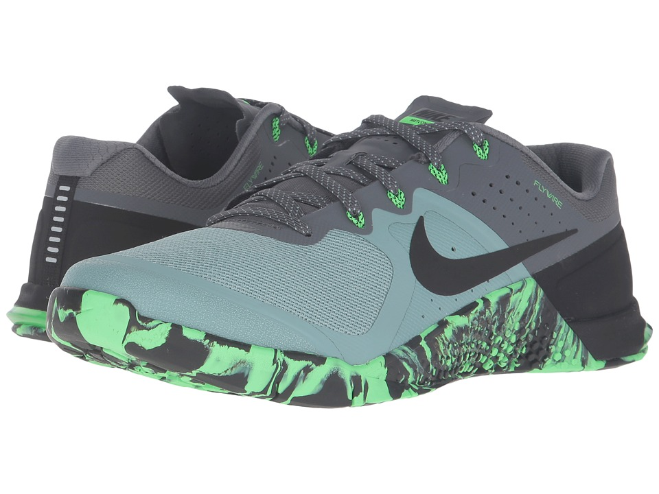 Nike - Metcon 2 (Cannon/Rage Green/Dark Grey/Black) Men's Cross Training Shoes
