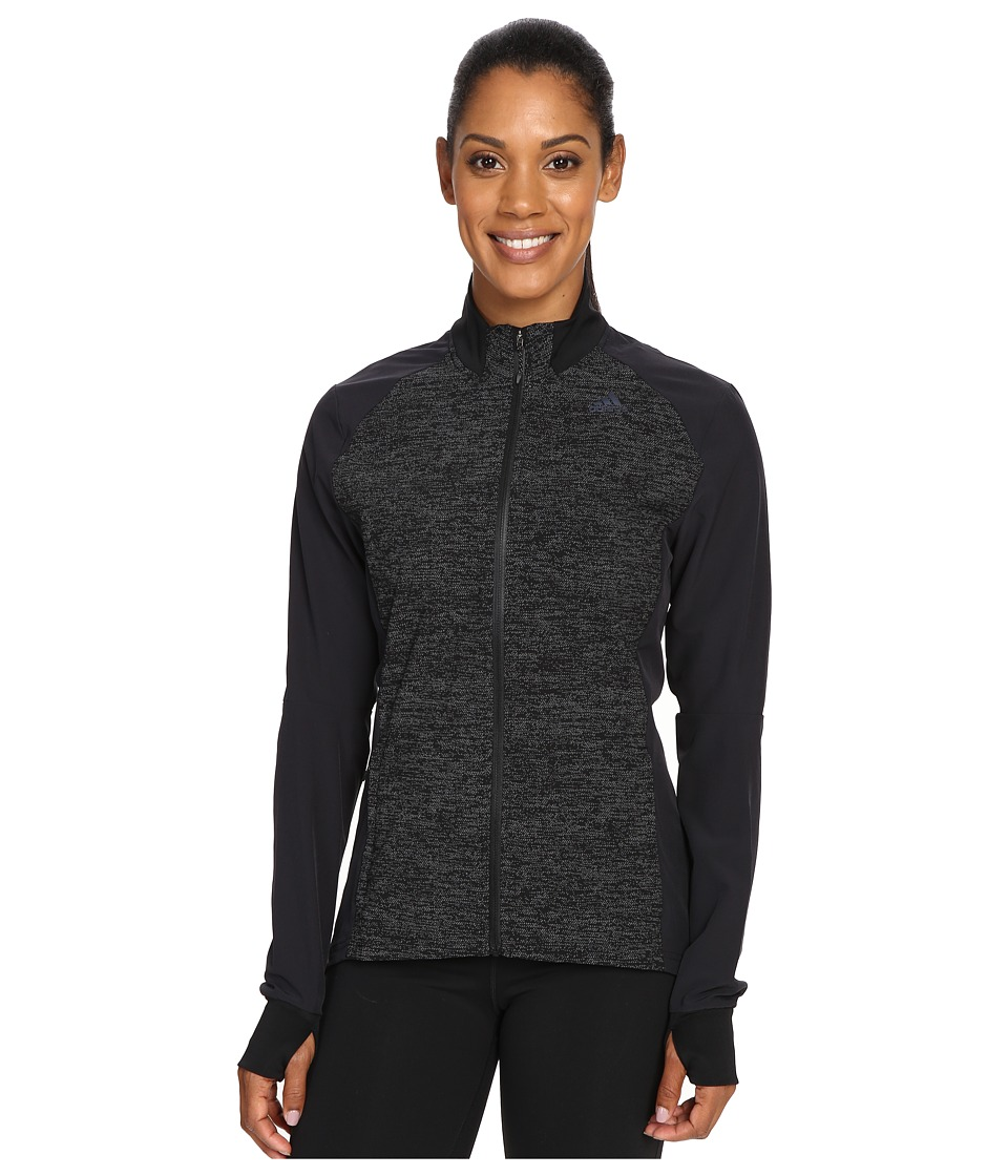 adidas - Supernova Storm Jacket (Black) Women's Coat