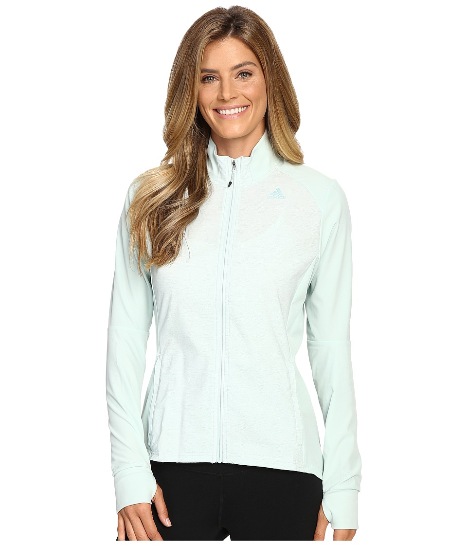 adidas - Supernova Storm Jacket (Vapour Green) Women's Coat