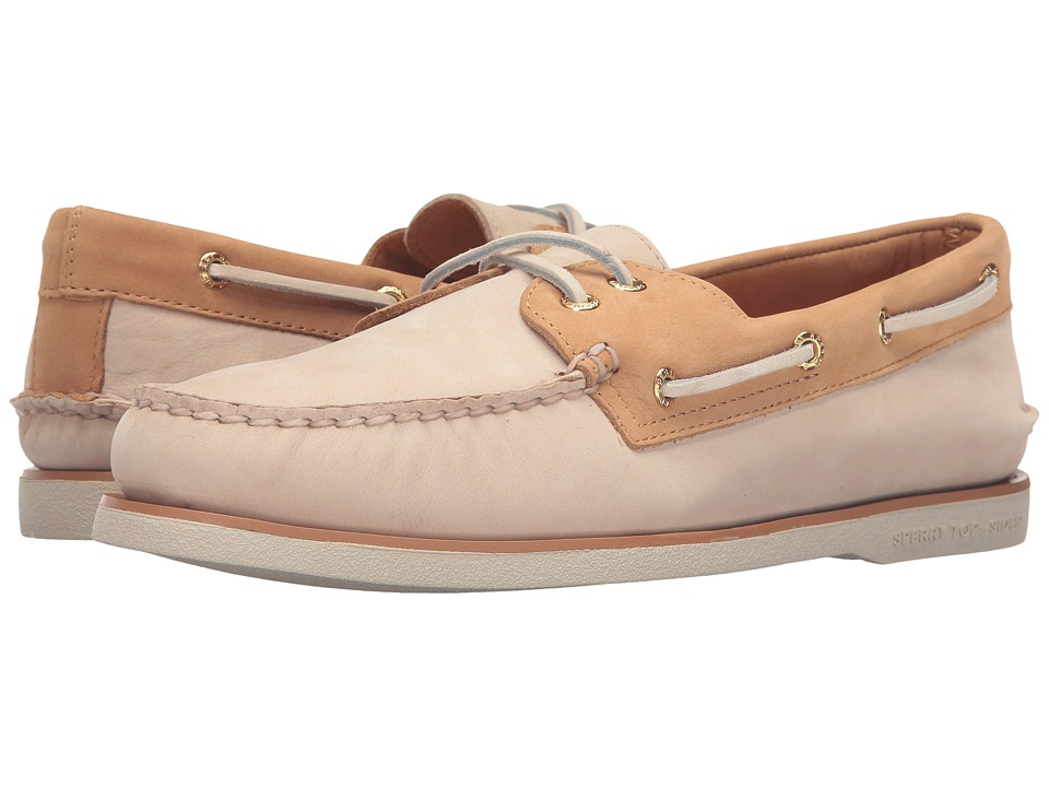 Sperry Top-Sider - Gold A/O 2-Eye Two-Tone (Birch/Tan) Men's Moccasin Shoes