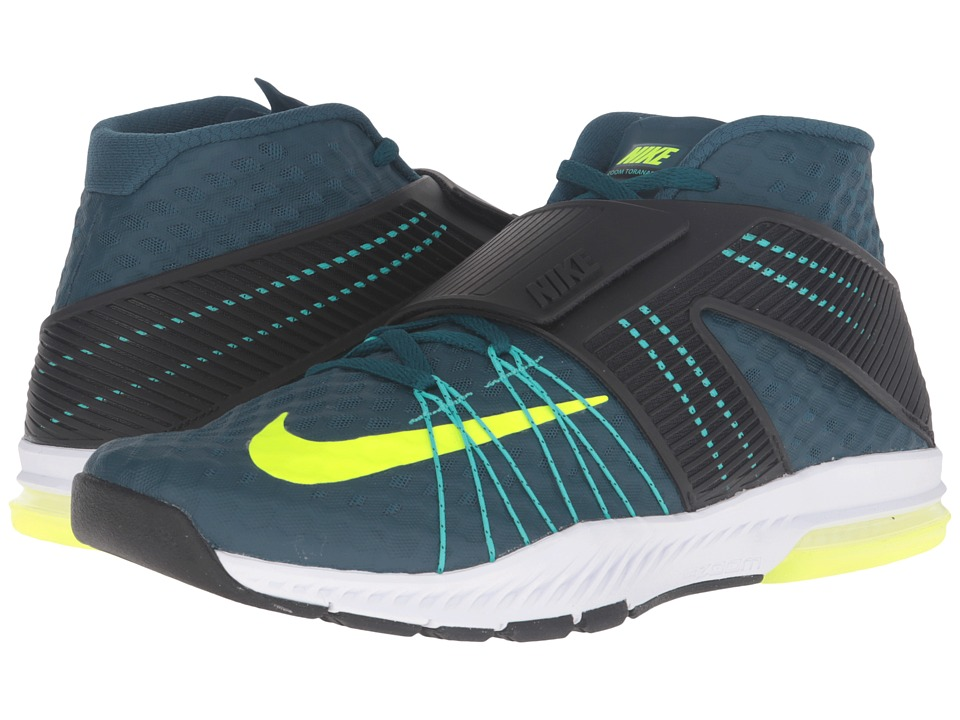 Nike - Zoom Train Toranada (Midnight Turquoise/Black/Hyper Jade/Volt) Men's Shoes