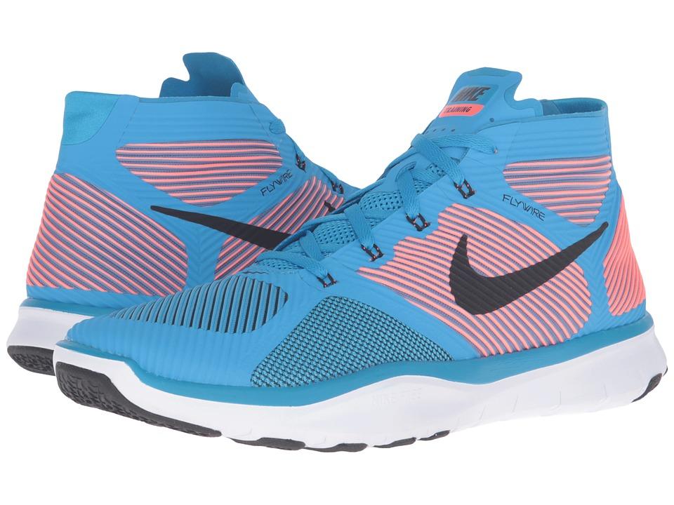 Nike - Free Train Instinct (Blue GLow/Total Crimson/White/Black) Men's Cross Training Shoes