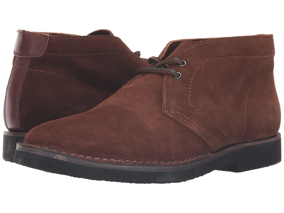 Frye - Arden Chukka (Brown Oiled Suede) Men's Lace-up Boots