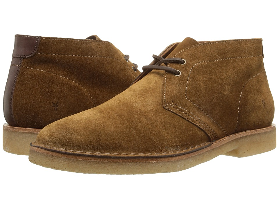 Frye - Arden Chukka (Khaki Oiled Suede) Men's Lace-up Boots