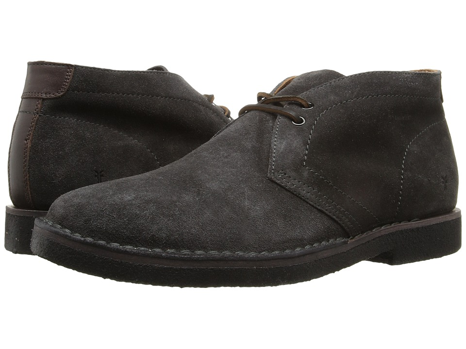 Frye - Arden Chukka (Slate Oiled Suede) Men's Lace-up Boots