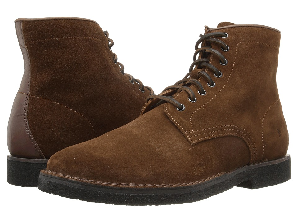 Frye Arden Lace-Up (Brown Oiled Suede) Men