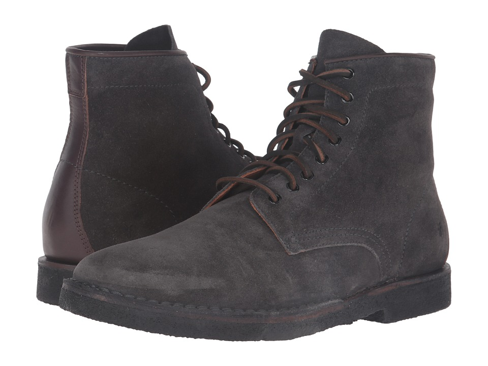 Frye Arden Lace-Up (Slate Oiled Suede) Men