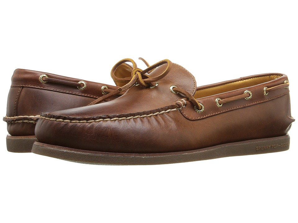Sperry - Gold A/O 1-Eye Wedge (Tan/Gum) Men's Moccasin Shoes