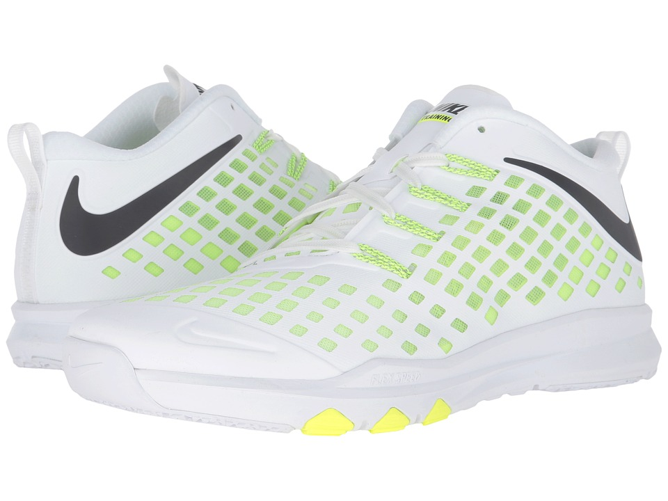 Nike - Train Quick (White/Volt/Black) Men's Shoes
