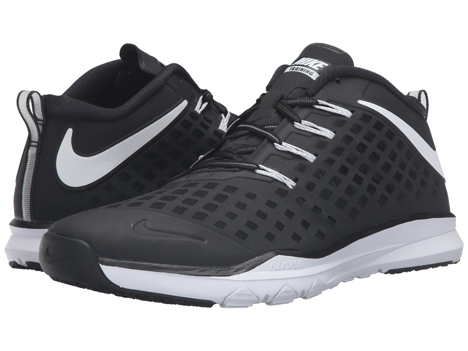 Nike - Train Quick (Black/Volt/White) Men's Shoes