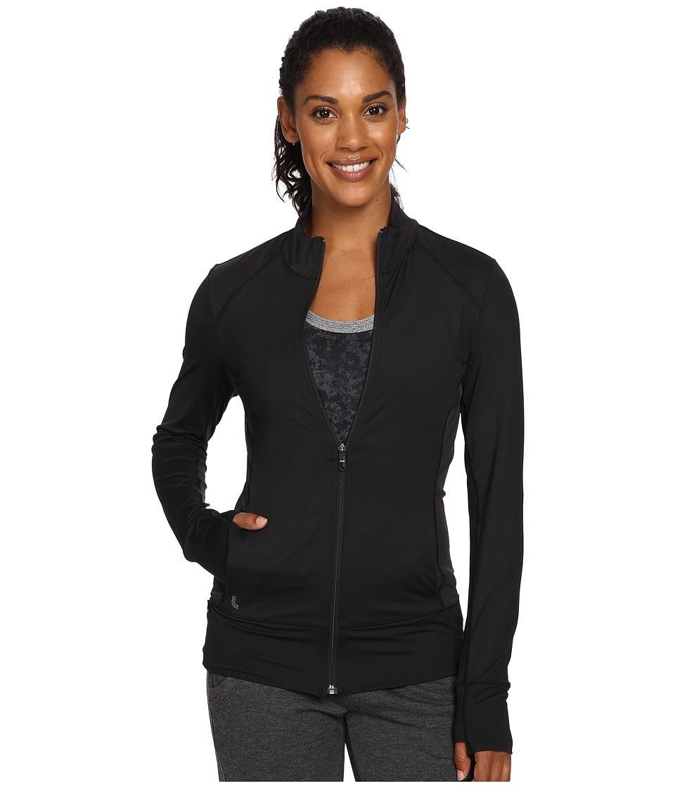 Lole - Essential Up Cardigan (Black) Women's Workout