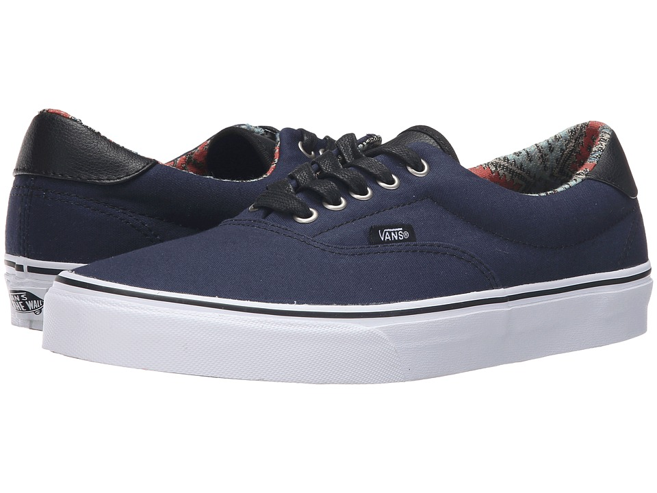 Vans - Era 59 ((C&L) Moroccan Geo/Dress Blues) Skate Shoes