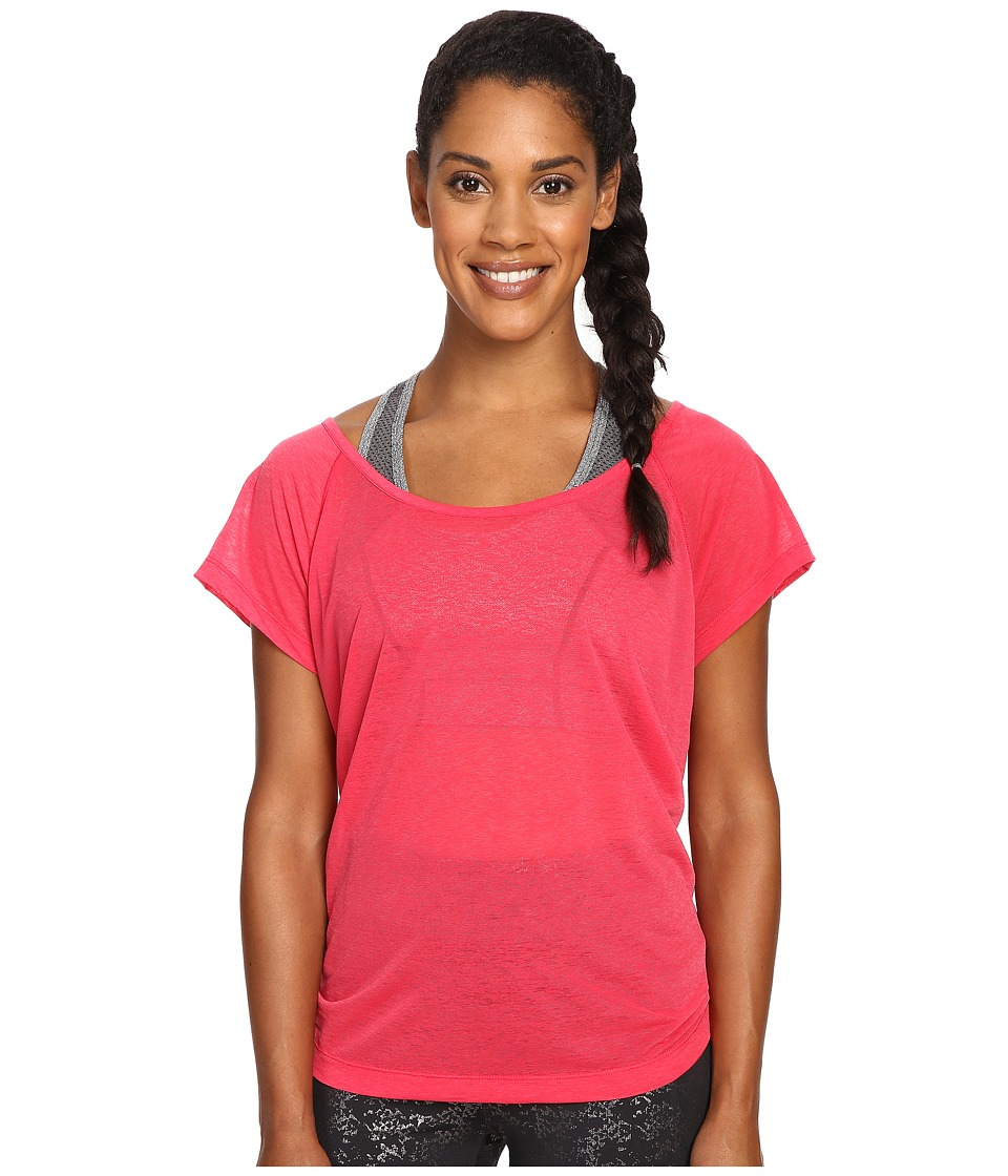 Lole - Beth Short Sleeve Top (Azalea) Women's Short Sleeve Pullover