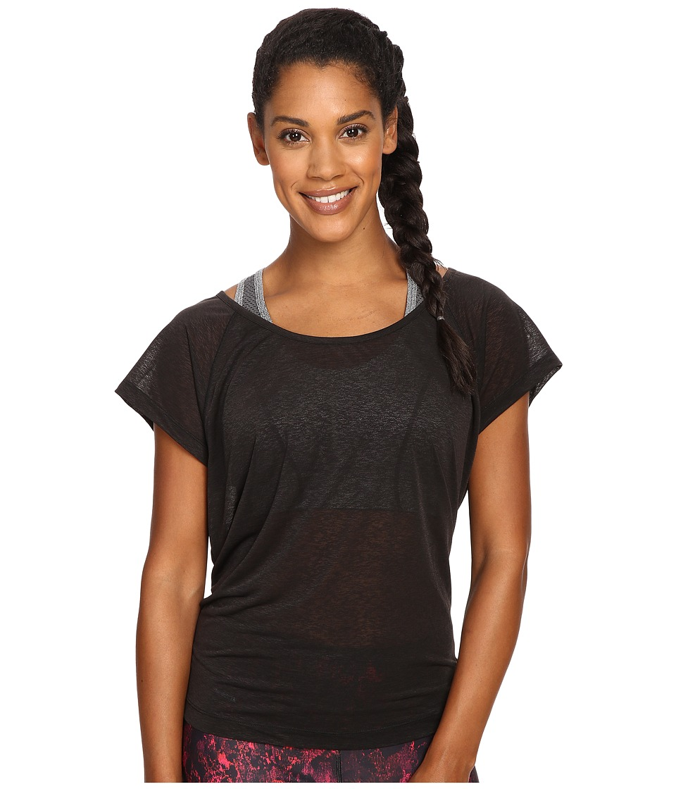 Lole - Beth Short Sleeve Top (Black) Women's Short Sleeve Pullover