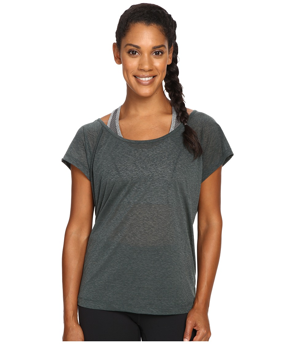 Lole - Beth Short Sleeve Top (Greens) Women's Short Sleeve Pullover