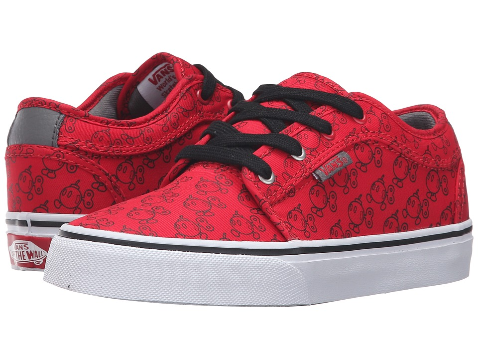 Vans Kids - Chukka Low (Little Kid/Big Kid) ((Nintendo) Red/Bob-omb) Boys Shoes