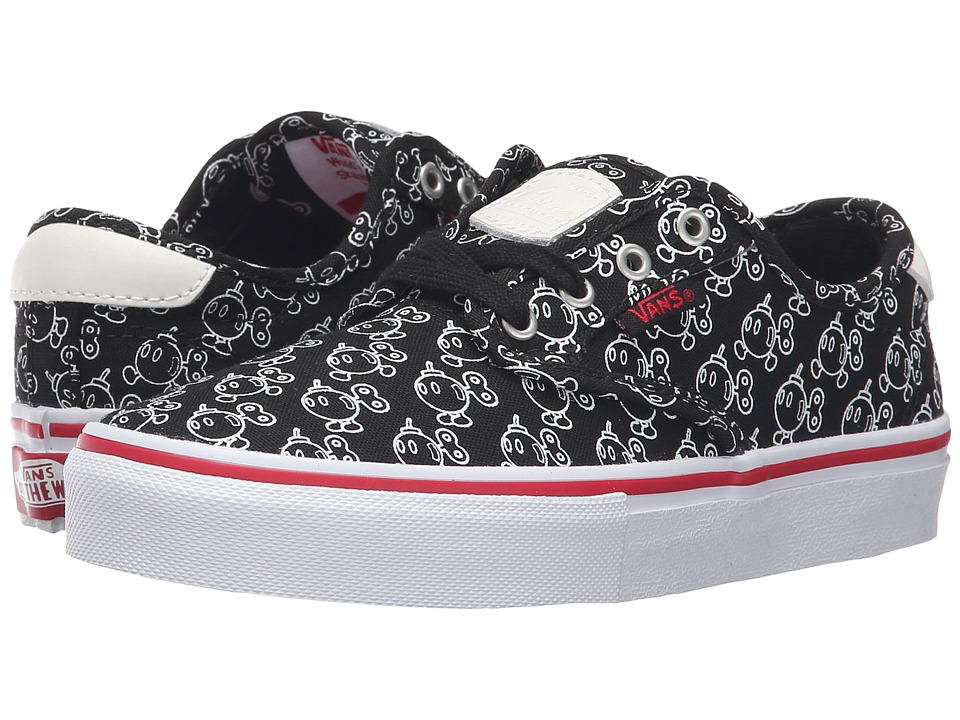 Vans Kids Chima Pro (Little Kid/Big Kid) ((Nintendo) Black/Bob-omb) Boys Shoes