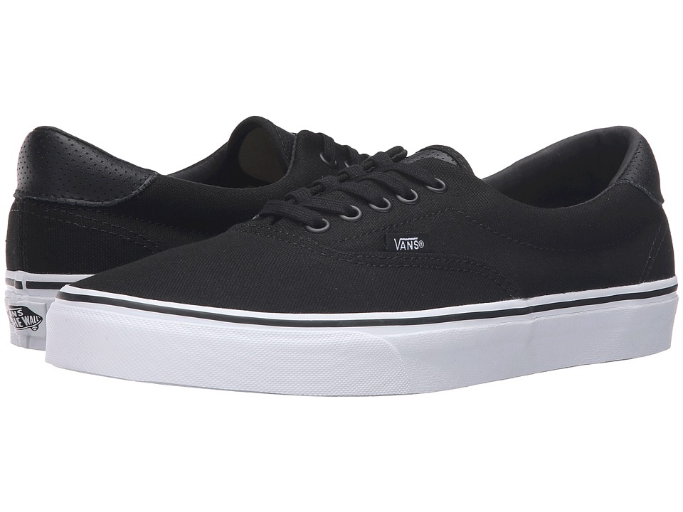 Vans - Era 59 ((C&P) Black/True White) Skate Shoes