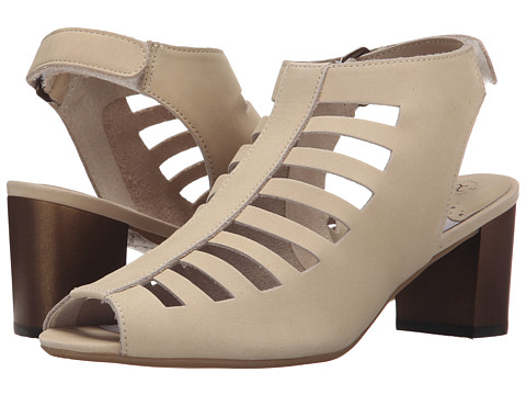 Johnston & Murphy - Kallie Cut Out (Off-White) Women's Shoes