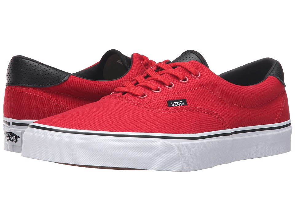 Vans - Era 59 ((C&P) Racing Red/Black) Skate Shoes