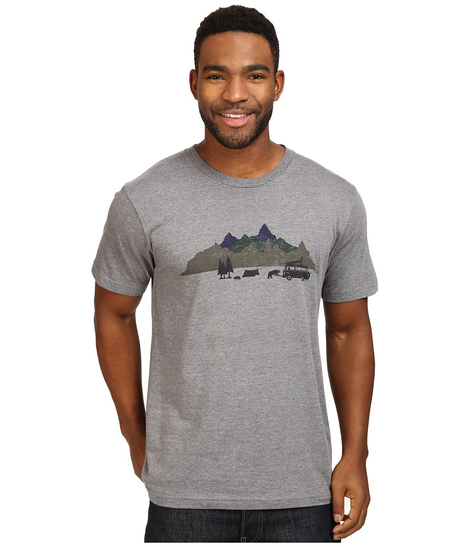 Toad&Co - Mobile Bear Can Short Sleeve Tee (Gray Heather) Men's T Shirt