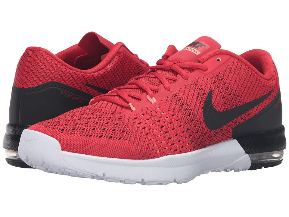 Nike - Air Max Typha (University Red/Bright Mango/White/Black) Men's Shoes