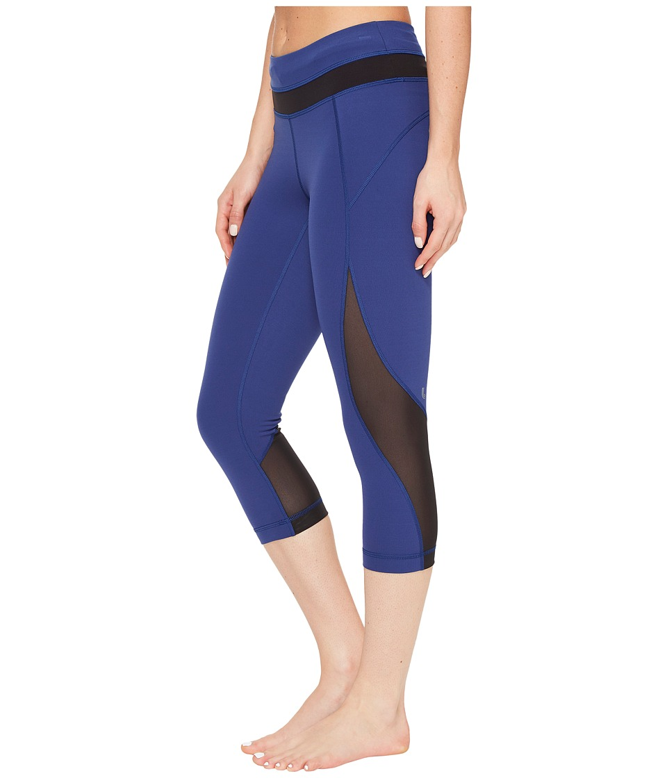 Lole - Run Capri (Twilight Blue) Women's Capri