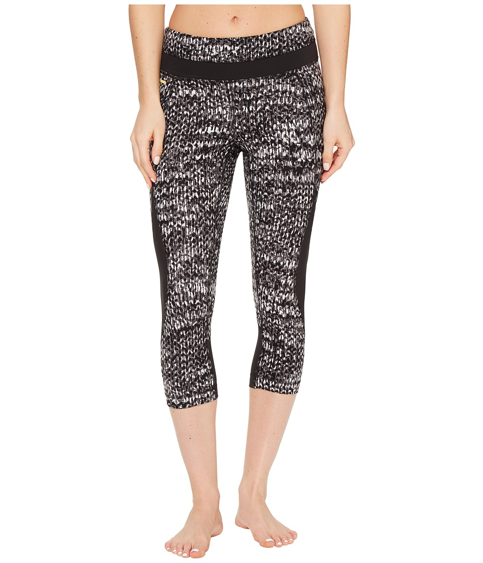 Lole - Run Capri (Black East Side) Women's Capri