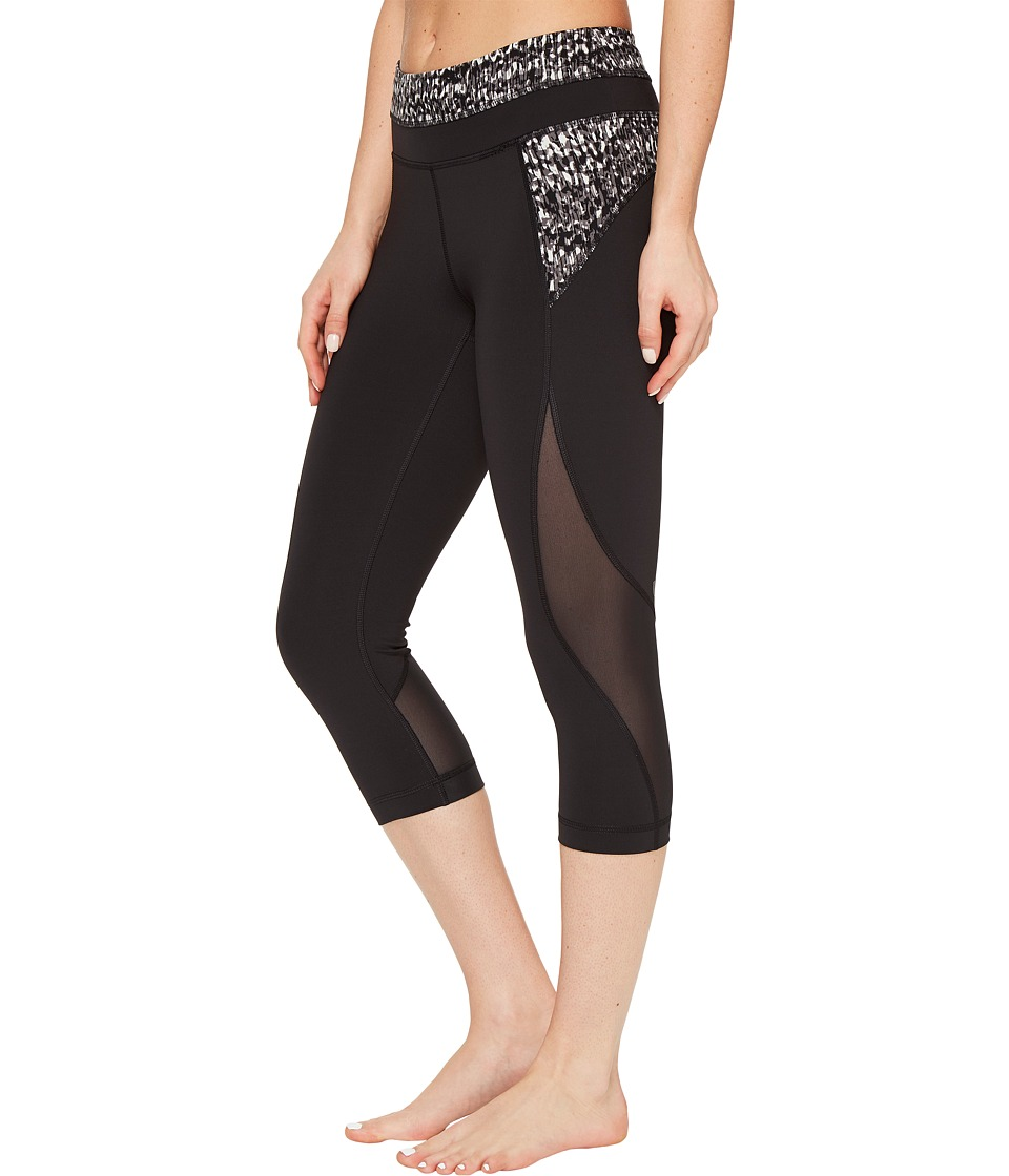Lole - Run Capri (Black 2) Women's Capri
