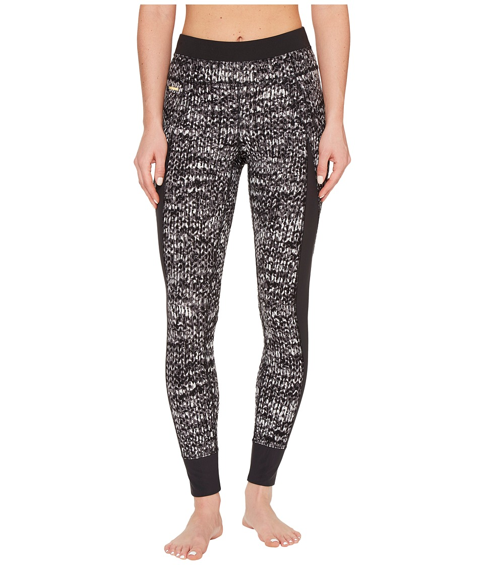 Lole - Burst Legging (Black East Side) Women's Casual Pants