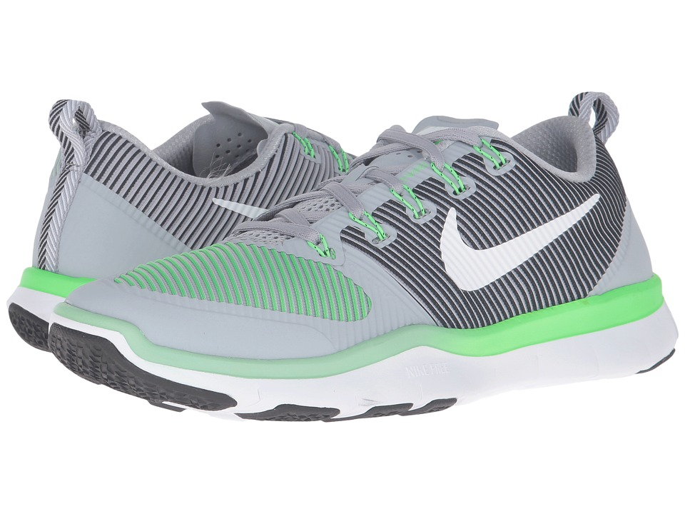 Nike - Free Train Versatility (Wolf Grey/Rage Green/Black/White) Men's Cross Training Shoes