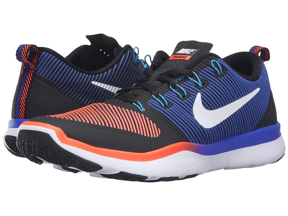 Nike - Free Train Versatility (Black/Total Crimson/Racer Blue/White) Men's Cross Training Shoes