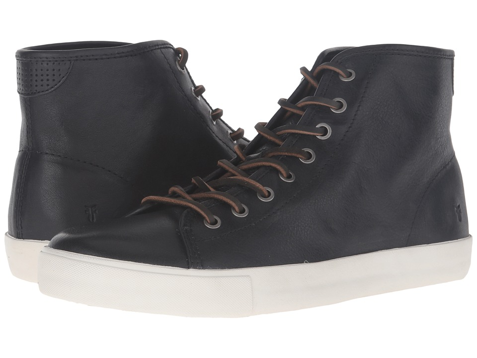 Frye - Brett High (Black) Men's Lace up casual Shoes