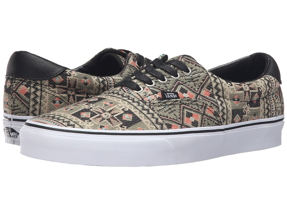 Vans - Era 59 ((Moroccan Geo) Black/Ivy Green) Skate Shoes