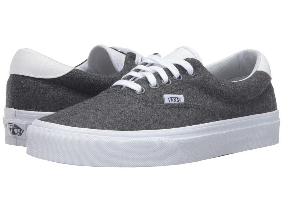 Vans - Era 59 ((Varsity) Charcoal/True White) Skate Shoes