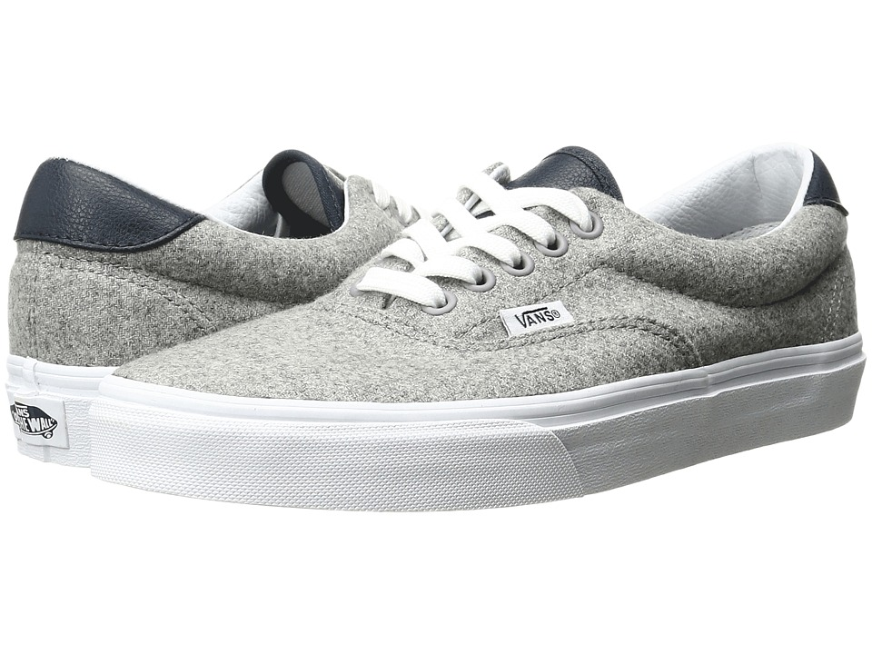 Vans - Era 59 ((Varsity) Gray/True White) Skate Shoes